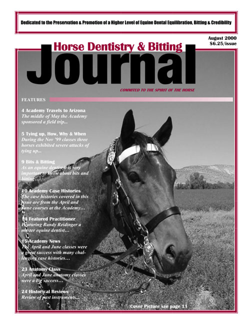 Journal of Equine Dentistry - 2000 August