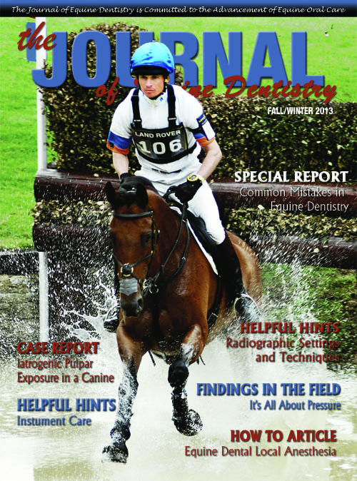 Journal of Equine Dentistry - 2013 Fall/Winter
