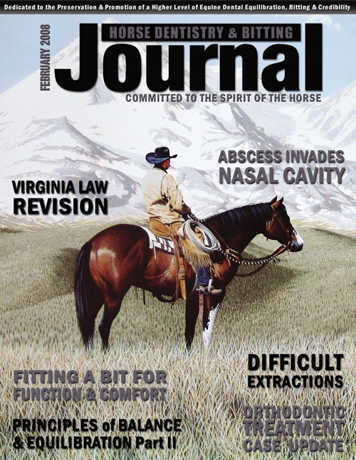 Journal of Equine Dentistry - 2008 February