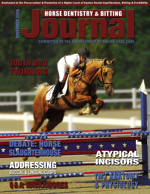 Journal of Equine Dentistry - 2008 November