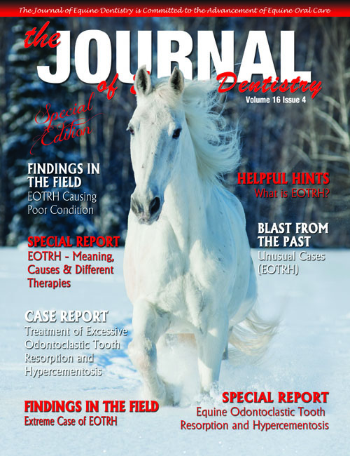 Journal of Equine Dentistry - Volume 16 Issue 4