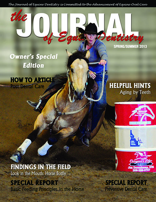 Journal of Equine Dentistry - 2013 Spring/Summer