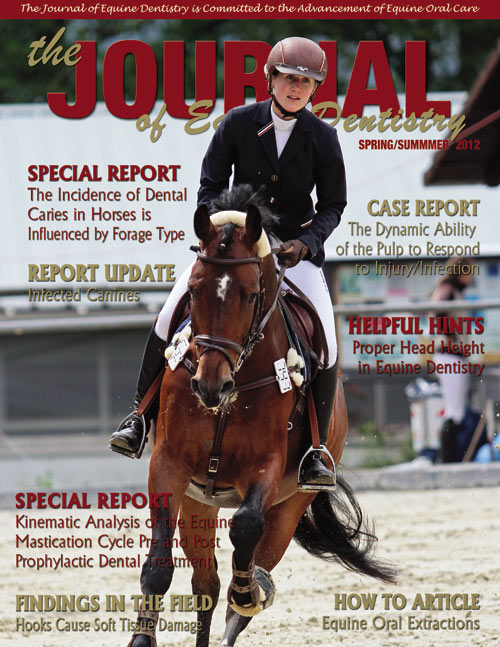 Journal of Equine Dentistry - 2012 Spring/Summer