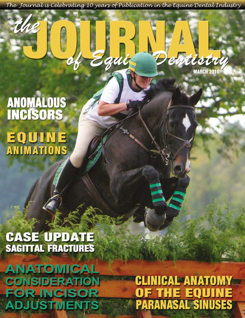 Journal of Equine Dentistry - 2010 Spring