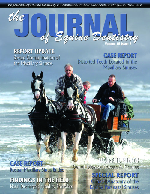Journal of Equine Dentistry - Volume 15 Issue 2