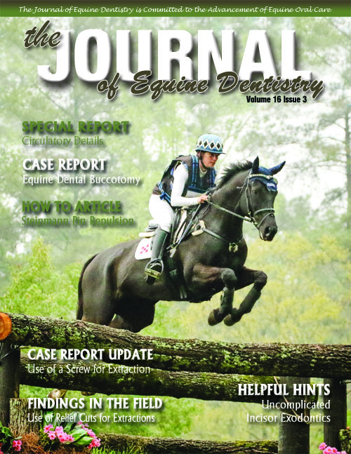 Journal of Equine Dentistry - Volume 16 Issue 3