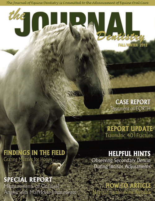 Journal of Equine Dentistry - 2012 Fall/Winter